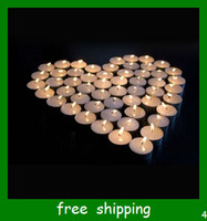 Wholesale Tea wax smokeless wax white wax aluminum candles aromatherapy furnace with candles