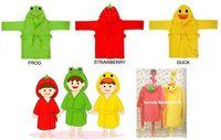 Wholesale Baby Super Cute Bathrobes Cotton Cartoon Animals Children Bath Towels Bath Robes