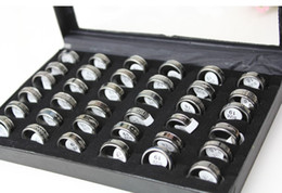 New Fashion Men Rings Jewelry Hot Titanium Steel Stainless Steel Rings 36pcs box Size 18-19 Mix CY2