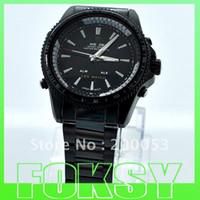Sport Men's Round Wholesale Black Band Leather Man Sports Wrist Watch Weide Metal Date Alarm Analog LED Gift 10pcs