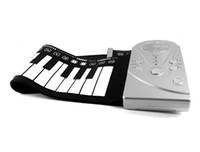 Wholesale High quality Keys Silicone Soft Roll Up Piano Hand Rolled Midi Keyboard Piano Organ