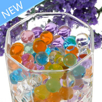 Wholesale Magical Crystal Mud Soil Water Beads for Flower Plant Freeshipping