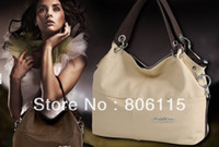 big cowhide leather - Promotion New Fashion Special Offer Genuine Leather Restore Ancient Inclined Big Bag Women Cowhide Handbag Bag