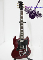 Solid Body 6 Strings Mahogany Wholesale - Musical instruments Newest Custom SG Model Bigbys Electric Guitar High#22
