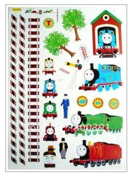 Cartoon Thomas And Friends Wall Sticker Train Decorated Paper Sticker,thomas  And
