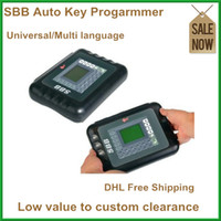 Wholesale DHL HK Post Latest SBB Key Programmer V33 Silca SBB transponder Keymaker OBD02