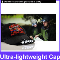 Wholesale 3 LED Ultra lightweight Cap Light Dexterous Hat Clip Light for Reading Working Fishing