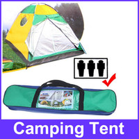 Wholesale Quick Setting Dome Style Three Person Camping Tent Pack with Carrying Bag for Outdoor Camping