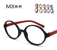 Wholesale 50PCS spell color models round glasses frame the children fight Seyan frames glasses frame glasses