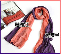 Plain Dyed ladies fashion scarves - ladies fashion scarf candy color scarf Mixed batch