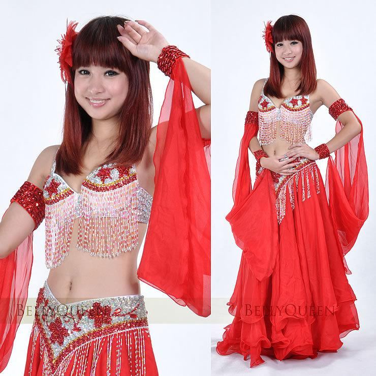 Indian Belly Dance Skirt Belly Dance Costume Pink Sexy Belly Dance