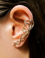 Wholesale Fashion Jewelry High Quality punk style ear cuff punk style flower earring LM C136