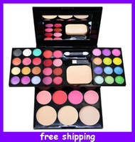 24 colors beauty compact - Lady ADS Color Fashion Beauty Eyeshadow Makeup Set Eye Shadow Palette Makeup Compact Palette Kit