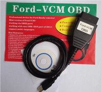 Wholesale Ford VCM ids Newest Ford VCM OBD Diagnostic Tools cable ford vcm vehicles Automatic ECU scan