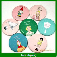 Wholesale small cookies mirror lovely small mirror make up mirror pocket mirror