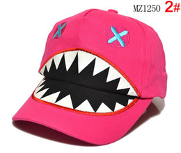 Wholesale 2013 new hiphop Children s cartoon cap Baby baseball cap Children s ball cap kids hat Baby sunhat