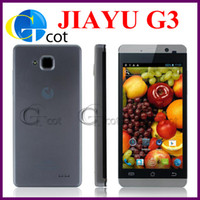 Wholesale jiayu G3 MTK6577 dual core smartphone Android Phones inch IPS Screen Android G RAM G WCDMA