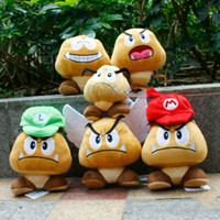 april game - Super Mario Bros Goomba Plush Doll Soft Toy Wing Goomba Stuffed Toys quot styles