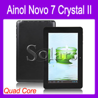 Wholesale Ainol Novo Crystal Quad Core Android Tablet PC Inch MVA HD Screen