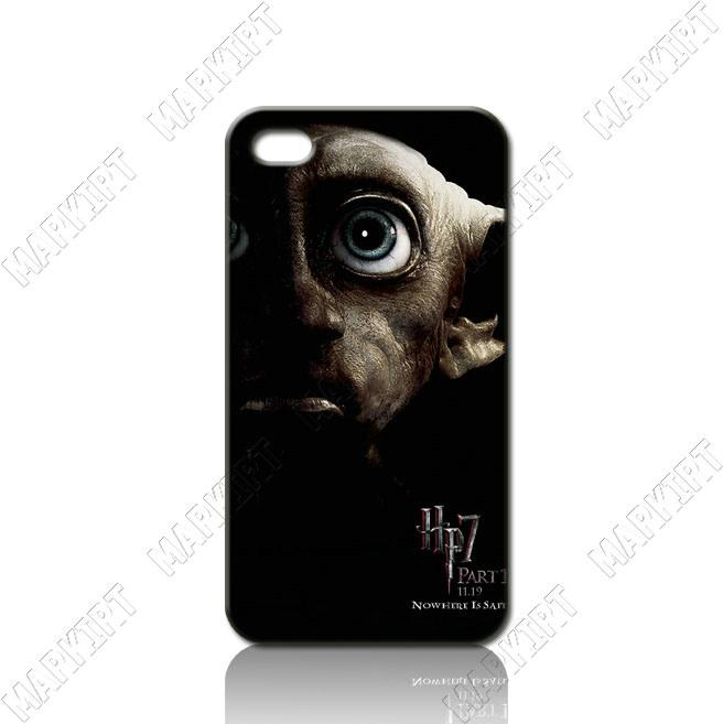 ILC0414 Harry Potter Dobby Hard Case Cover for Iphone 4 4S Fit ATu0026T ...