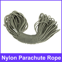 Wholesale Versatile M Nylon Braided Cord Military Survival Parachute Rope for Outdoor Activities ACU Camouf