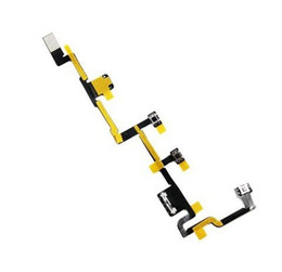 wholesale power on off switch volume silent mute button flex cable ribbon for ipad 2 2nd gen