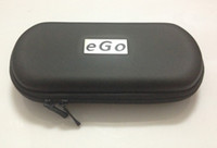 Wholesale The big ego carrying case good quality size L eGo Zipper Leahter Bag Cofoul for Electronic cigarettes