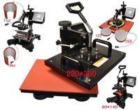 t shirt machine - advanced in New Design Combo Heat transfer Machine iphone case printing machine heat press mug plate t shirt heat press machine