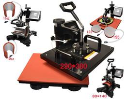 advanced 6 in 1 New Design Combo Heat transfer Machine, iphone case printing machine, heat press,mug plate t shirt heat press machine