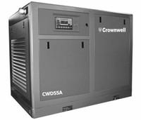 55A 8bar 10 stere ar resfriado com injecção de óleo estacionário Screw Compressor de ar Crownwell