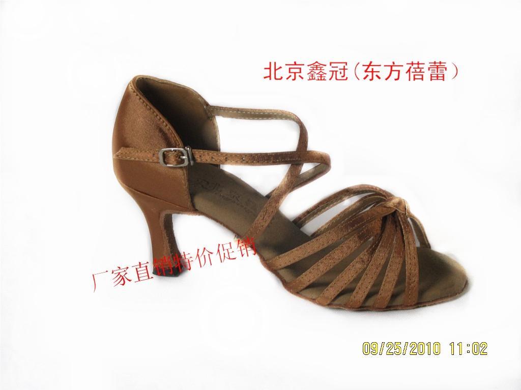 Wholesale Latin Dance Shoes Women's Ballroom Shoes 7.5cm Heels EU Size 34-40 20pcs Free Shipping