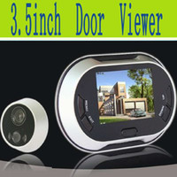 Wholesale Digital Peephole Door Viewer Inch TFT LCD Screen door camera with door bell