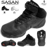 Wholesale Sasan dance shoes modern dance shoes sports square dance shoes genuine leather soft outsole