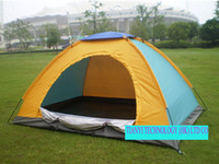 beach umbrella tent - Outdoor Sun Shelter Shade Umbrella Beach camping leisure special double family waterproof tent