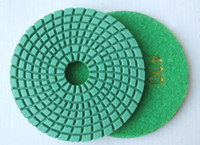 Wholesale floor stone marble granite polishing pads for wet use