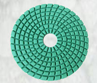 Wholesale 3 High Gloss Diamond Flexible Wet Polishing Pad Abrasive Pad and Grinding Pad used for stone