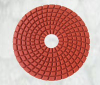 Wholesale High Gloss Diamond Flexible Wet Abrasive Polishing Pad for marble polishing