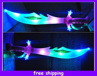 Wholesale Hot Sale Led Flashing Knives Swords Glow Sword Music Toy Children s Toys
