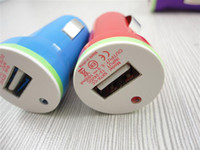 Wholesale Colorful Double side board car charger in high quality for iphone samsung THC NOKIA cellphone