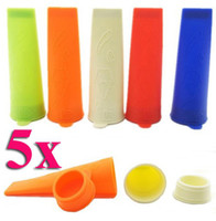 Pop moulds  Silicone Rubber ECO Friendly Silicone Push Up Ice Cream Jelly Lolly Pop For Popsicle Maker Mould Mold