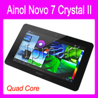 Wholesale Ainol Novo Crystal Quad Core Android Tablet PC MVA HD Screen Inch