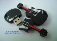 Wholesale Guitar USB GB GB GB GB USB Flash Memory Stick Pen Drive Disk for Laptop Computer