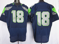 Wholesale 2012 Cheap Men Elite American Football Blue Jerseys Rugby Jersey Mix Order All Team
