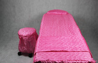 beauty bed - Bed Covers Bedspread one set for Facial beauty bed for spa salon use