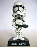 Wholesale FUNKO WACKY WOBBLER STAR WARS Clone Trooper BOBBLE HEAD FIGURE