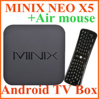 Dual Core Included 1080P (Full-HD) MINIX NEO X5 RK3066 Dual Core Cortex A9 1G 16G Google Smart Android TV Box+Fly air mouse S722