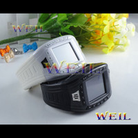 Wholesale Free DHL Watch Mobile Phone AK11 Tri band with inch sreen MP3 singal sim card buletooth WEIL