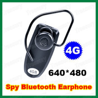 Wholesale Spy Hidden Camera GB Video Recorder Bluetooth Earphone DVR Recorder Fps