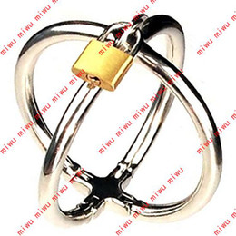 Wholesale Ellipse Stainless Steel Cross Cuffs Ovoid Olivary Oval Shaped smd918