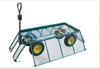 Wholesale folding garden cart garden trolley wheelbarrow garden tool cart dump cart